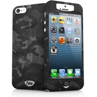 iSkin slims - Schutzhülle mit Displayschutz für Apple iPhone 5/ 5S/ SE - camo