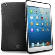 iSkin Solo FX - Silikon Schutzhülle für Apple iPad mini - schwarz, transparent