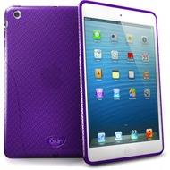 iSkin Solo FX - Silikon Schutzhülle für Apple iPad mini - lila, transparent