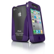iSkin Solo VU - Schutzhülle für Apple iPhone 4,4s - lila