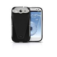 iSkin Vibes - Schutzhülle für Samsung Galaxy S3 - schwarz