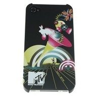 J-Straps Backclip MTV für iPhone 4, white rainbow