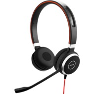 Jabra Evolve 40 UC Duo (Headset 3,5 mm Klinke)