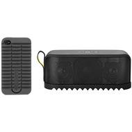 Jabra Aktion Bluetooth Lautsprecher Solemate, schwarz + Schutzschale Solemate-Style für iPhone 4/ 4S