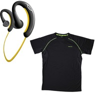 Jabra Aktion SPORT Bluetooth Stereo Headset + endomondo Funktions-Laufshirt Man (Gr��e M)