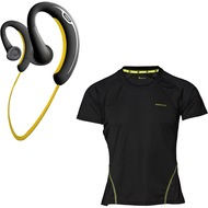 Jabra Aktion SPORT Bluetooth Stereo Headset + endomondo Funktions-Laufshirt Woman (Gr��e M)