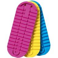 Jabra Ersatzsohlen-Set (3 Stück) für Solemate, blau/ gelb/ pink