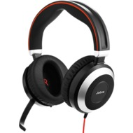 Jabra Evolve 80 UC Duo (Headset 3,5 mm Klinke)