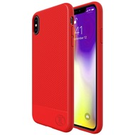 JT Berlin BackCase Pankow Soft, Apple iPhone Xs Max, rot, 10484