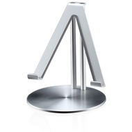 Just Mobile UpStand, Schreibtisch-Halter für Apple iPad, silber