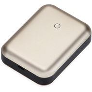 JustMobile Gum++ Alu, Hochleistungsakku für Smartphones, Tablets, 6.000mAh - gold