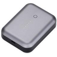 JustMobile Gum++ Alu, Hochleistungsakku für Smartphones, Tablets, 6.000mAh - grau
