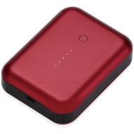 JustMobile Gum++ Alu, Hochleistungsakku für Smartphones, Tablets, 6.000mAh - rot