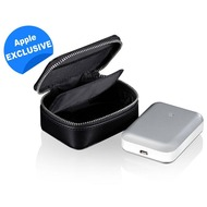 JustMobile Gum++ Alu, Hochleistungsakku für Smartphones, Tablets, 6.000mAh - silber