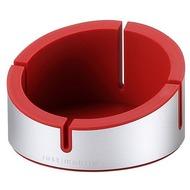 JustMobile Halter AluCup Grande für Smartphone (bis 78 mm Breite), rot