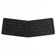 Kanex faltbare Tastatur - QWERTZ-Layout - schwarz