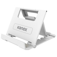 Kanex Faltbarer Tablet- und Smartphonehalter - 2er-Pack - grau