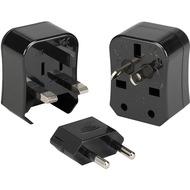 Kanex Travel Bud 3in1 Stromstecker Adapter Set - US, UK, EU, AU - schwarz
