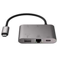 Kanex USB-C Hub mit Pass-Through Charging, Gigabit Ethernet & USB-A 3.0