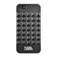 Karl Lagerfeld 3D Studs Collection - Hart Cover/ Case/ Schutzhülle - Apple iPhone 5,5S