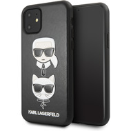 Karl Lagerfeld Choupette Embossed - Apple Iphone 11 Pro Max - Cover Hülle Schutzhülle Case