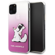 Karl Lagerfeld Choupette Gradient Case - Apple iPhone 11 Pro Max - Pink - Hard Cover - Schutzhülle