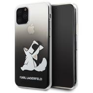 Karl Lagerfeld Choupette Gradient Case - Apple iPhone 11 Pro Max - Schwarz - Hard Cover - Schutzhülle