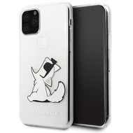 Karl Lagerfeld Choupette Gradient Case - Apple iPhone 11 - Trasnsparent - Hard Cover - Schutzhülle