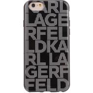 Karl Lagerfeld Hypnotik Collection- Hart Cover/ Case/ Schutzhülle - Apple iPhone 6 > Schwarz