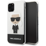 Karl Lagerfeld Iconic Case - Apple iPhone 11 Pro - Transparent - Hard Cover - Schutzhülle