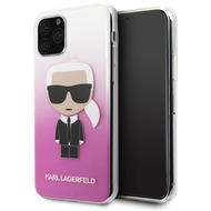 Karl Lagerfeld Iconic Gradient Case - Apple iPhone 11 - Pink - Hard Cover - Schutzhüllen