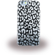 Karl Lagerfeld Kamouflage - TPU Cover/  Case/  Schutzhülle - Apple iPhone 6, 6S > Grau/ Schwarz