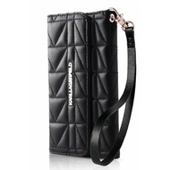 Karl Lagerfeld Kuilted Collection - Clutch/ Handy Handtasche/ Schutzhülle - Apple iPhone 6