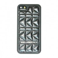 Karl Lagerfeld Kuilted Collection- Hart Cover/ Case/ Schutzhülle - Apple iPhone 5, iPhone 5S
