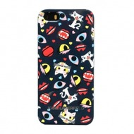 Karl Lagerfeld Monster Choupette - Hart Cover/ Case/ Schutzhülle - Apple iPhone 5, 5S