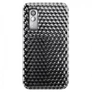 Katinkas Design Cover HEX 3D für Samsung S5230, schwarz