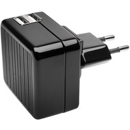 Kensington AbsolutePower 4.2A Fast Charge for 2 Tablets Dual USB Wall Charger, without Cable