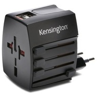 Kensington AbsolutePower Dual USB internationales Reiseladegerät