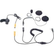 Kenwood Helm-Headset IHS-02 für FunKey, TK-3101, TK-261 mit beidseitigem Kopfhörer