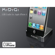 KiDiGi Dockingstation USB für Apple iPhone 4 /  4S schwarz