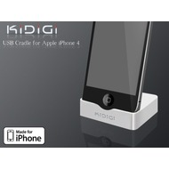 KiDiGi Dockingstation USB für Apple iPhone 4 /  4S weiss