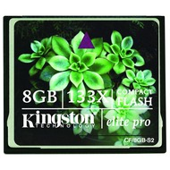 Kingston Elite Pro Compact Flash Card 8GB 133X
