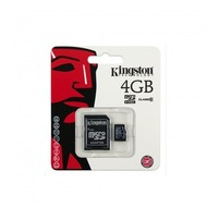 Kingston Micro-SD Card 4GB SDHC C10 mit Adapter