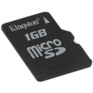 Kingston micro SD Card 1GB ohne Adapter