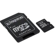 Kingston microSDHC Card 4GB Class 4