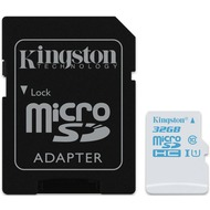 Kingston microSDHC Action Camera UHS-I U3, 32GB mit Adapter