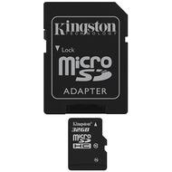 Kingston microSDHC Card 32GB Class 10