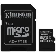 Kingston microSDHC Card Class 10 UHS-1 mit SD Adapter, 32GB