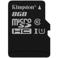 Kingston microSDHC Card Class 10 UHS-1 ohne Adapter, 8GB