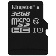 Kingston microSDHC Class10 UHS-I Single ohne Adapter, 32GB
